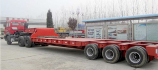 Trailer Multi Axle Lowbed